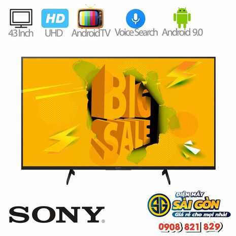 Android tivi Sony led 4k 43 inch KD-43X7500H